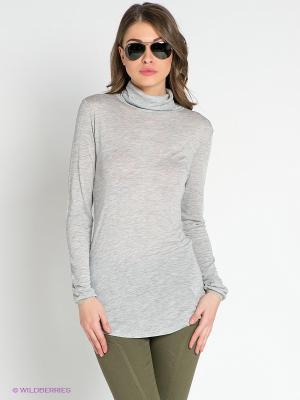 Водолазка American Outfitters. Цвет: серый меланж