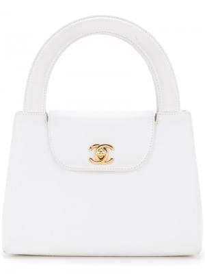 Small hand bag Chanel Vintage. Цвет: белый