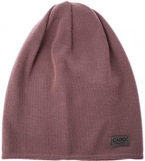 Сиреневая шерстяная шапка Capo. Цвет: сиреневый