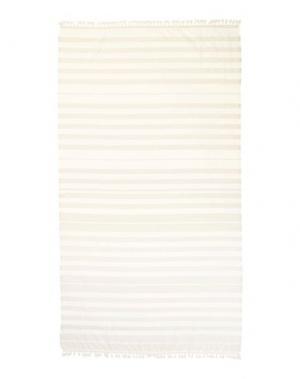 Пляжное полотенце TWIN-SET Simona Barbieri. Цвет: бежевый