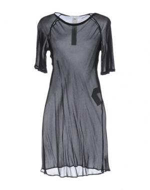 Короткое платье DAMIR DOMA. Цвет: черный