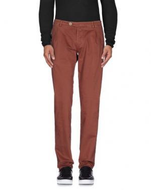 Повседневные брюки BERWICH. Цвет: пастельно-розовый
