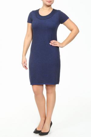 Платье ROSANNA PELLEGRINI. Цвет: синий