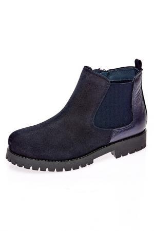Ботинки TNY. Цвет: синий