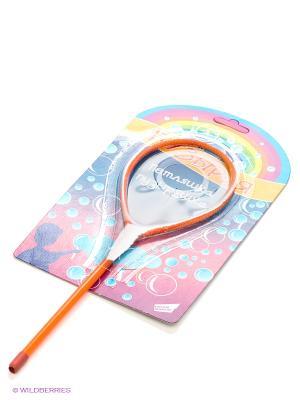 Игрушка для пускания мыльных пузырей Петляшка-пузыряшка DREAM MAKERS. Цвет: оранжевый