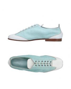 Обувь на шнурках HENRY BEGUELIN. Цвет: небесно-голубой