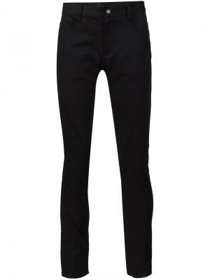 Эластичные узкие брюки Undercover. Цвет: чёрный