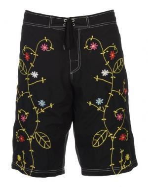 Пляжные брюки и шорты GOING FOR THE GUSTO. Цвет: черный