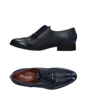 Обувь на шнурках F.LLI BRUGLIA. Цвет: темно-синий