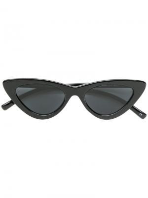 Солнцезащитные очки  Last Lolita Le Specs. Цвет: чёрный