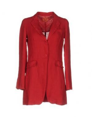 Пиджак B.YU. Цвет: красный