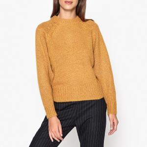 Пуловер из плотного трикотажа MANTRA HARRIS WILSON. Цвет: горчичный