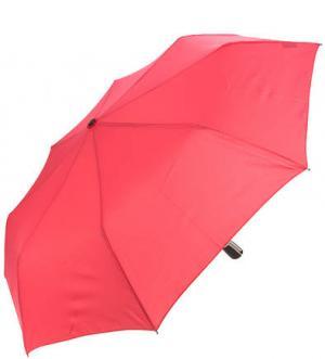 Однотонный складной зонт из полиэстера Doppler. Цвет: фуксия