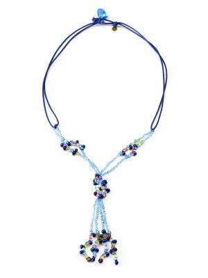 Ожерелье Bohemia Style. Цвет: голубой