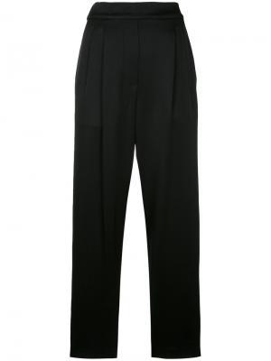 Широкие брюки Erika Cavallini. Цвет: чёрный