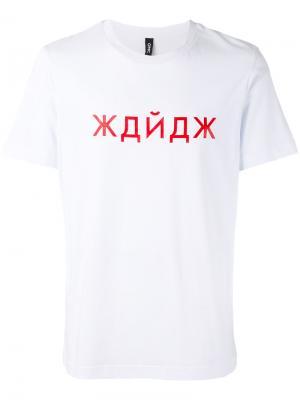 Classic T-shirt Omc. Цвет: белый