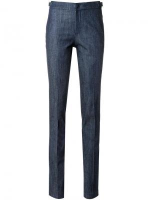 Узкие брюки из денима Tufi Duek. Цвет: синий