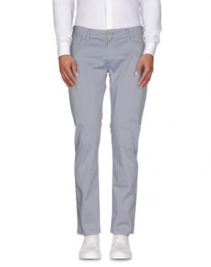 Повседневные брюки ROBERTO PEPE. Цвет: серый