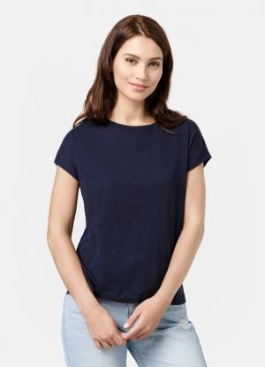 Базовая футболка OSTIN. Цвет: темно-синий