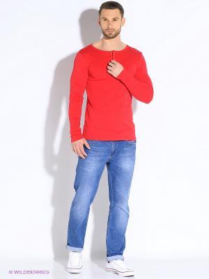 Лонгслив D.S. Цвет: красный