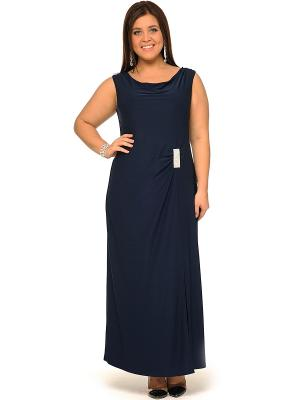Платье, кардиган SVESTA. Цвет: темно-синий