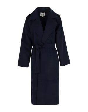 Пальто TWIST & TANGO. Цвет: темно-синий