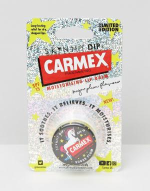 Carmex Бальзам для губ ограниченной серии x Skinny Dip. Цвет: мульти