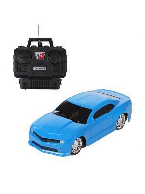 Машина радиоуправляемая. YAKO. Цвет: голубой