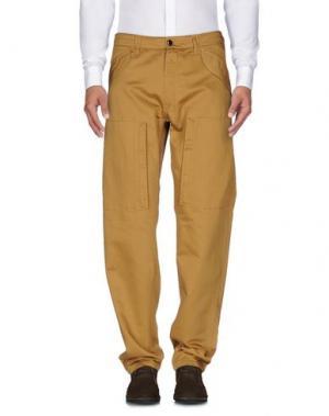 Повседневные брюки C.P. COMPANY. Цвет: хаки
