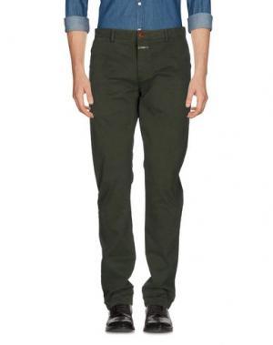Повседневные брюки CLOSED. Цвет: темно-зеленый