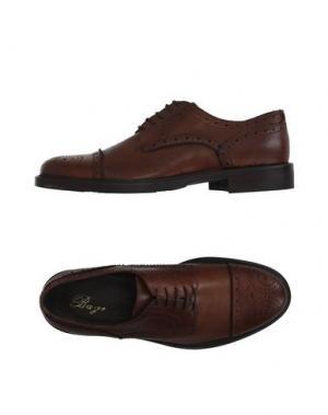 Обувь на шнурках BAGE. Цвет: желто-коричневый