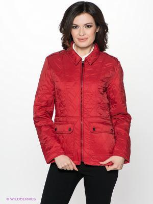 Куртка INCITY. Цвет: красный