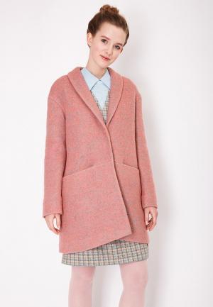 Пальто Katya Erokhina. Цвет: коралловый