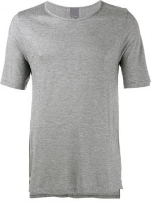 Кашемировая футболка Lot78. Цвет: серый