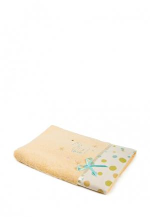 Полотенце La Pastel. Цвет: желтый