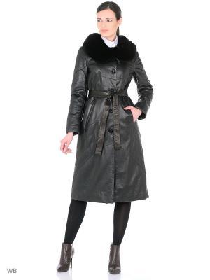 Пальто Adamo.. Цвет: черный