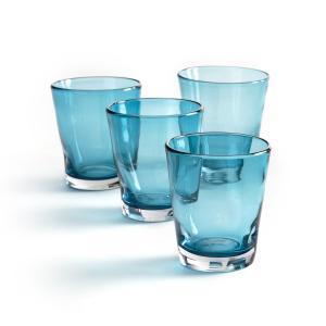 4 стакна для воды, Tawul AM.PM.. Цвет: прозрачный,синий