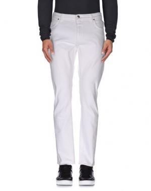 Джинсовые брюки CLOSED. Цвет: белый