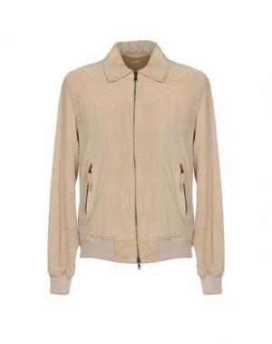 Куртка GOLD CASE by ROCCO FRAIOLI. Цвет: бежевый