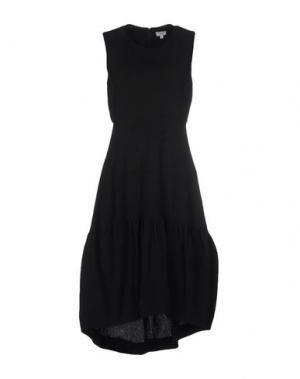 Платье до колена INTROPIA. Цвет: черный