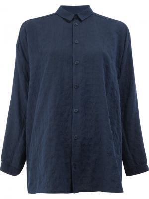 Свободная рубашка Toogood. Цвет: синий