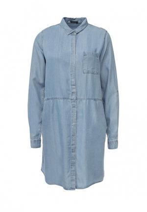 Платье джинсовое Medicine. Цвет: голубой