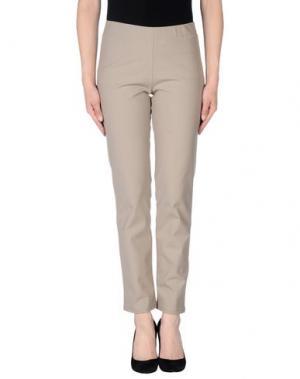 Повседневные брюки PAMELA HENSON. Цвет: бежевый