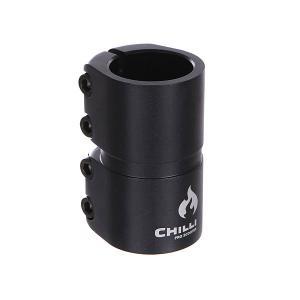 Зажимы  7000 Scs 4 Bolts Clamp Black Matt Chilli. Цвет: черный