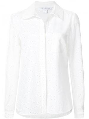 Рубашка Lorelei Two Diane Von Furstenberg. Цвет: белый