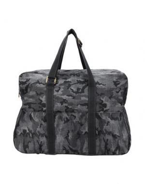 Дорожная сумка MANTICO. Цвет: серый
