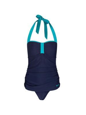 Слитный купальник REGATTA. Цвет: синий
