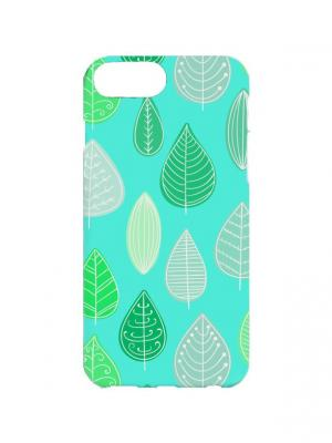 Чехол для iPhone 7Plus Мятный лес Арт. 7Plus-109 Chocopony. Цвет: зеленый, темно-зеленый