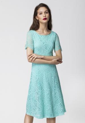 Платье Vilatte. Цвет: голубой