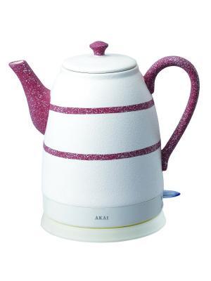 Чайник электрический 1064R AKAI. Цвет: темно-коричневый